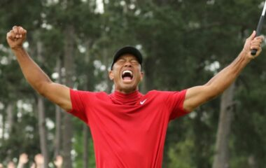 Tiger Winning Masters 2019 image 1