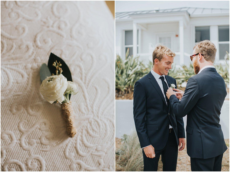 modern groom