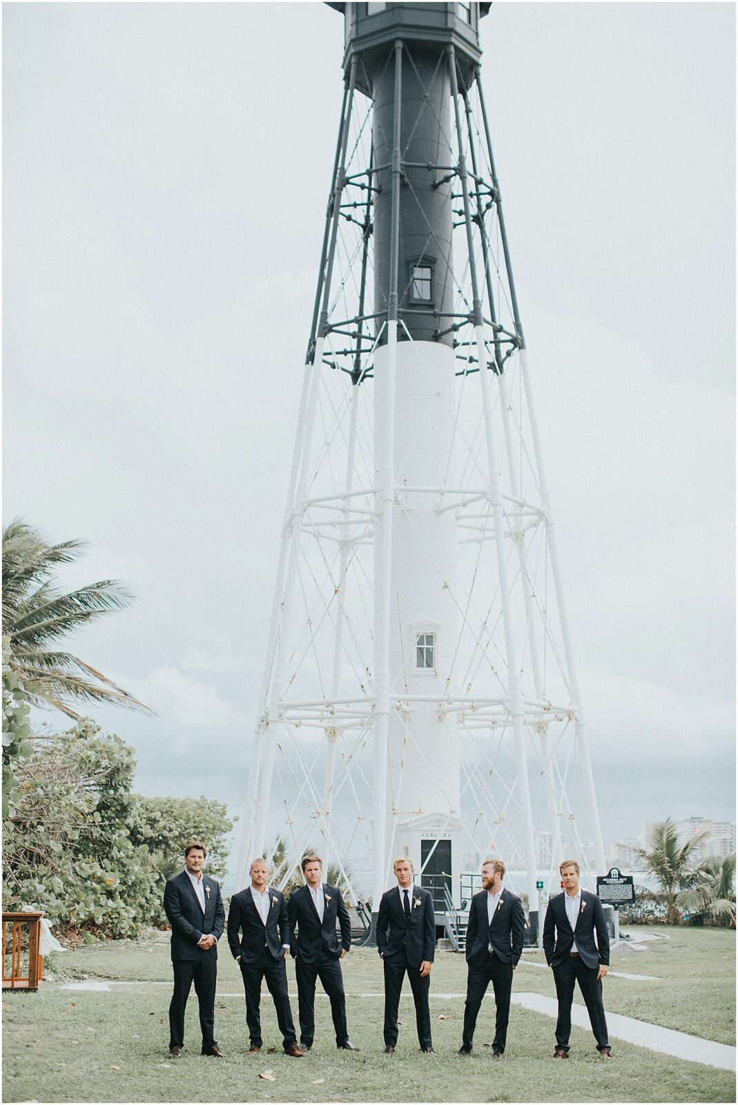 hillsboro lighthouse wedding-portraits