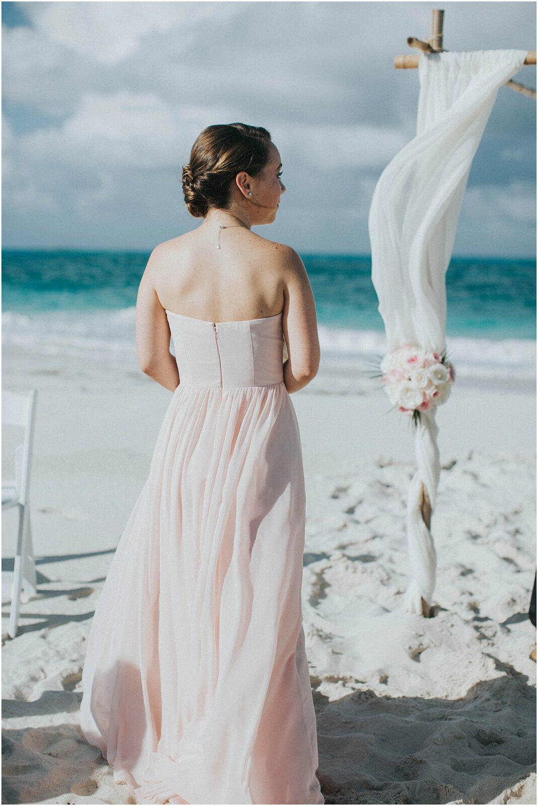 little exuma beach wedding