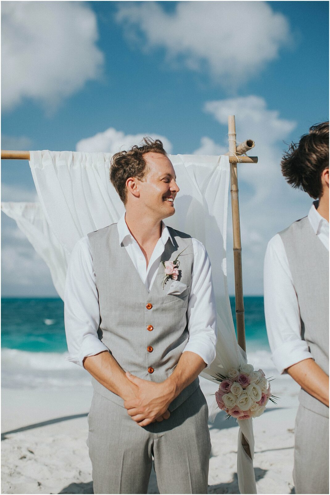 exuma beach wedding