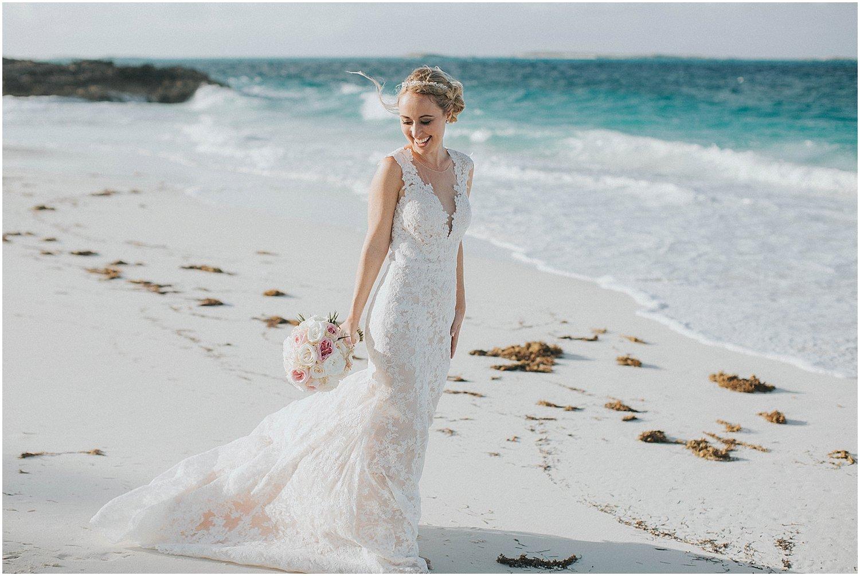 bridal beach portraits