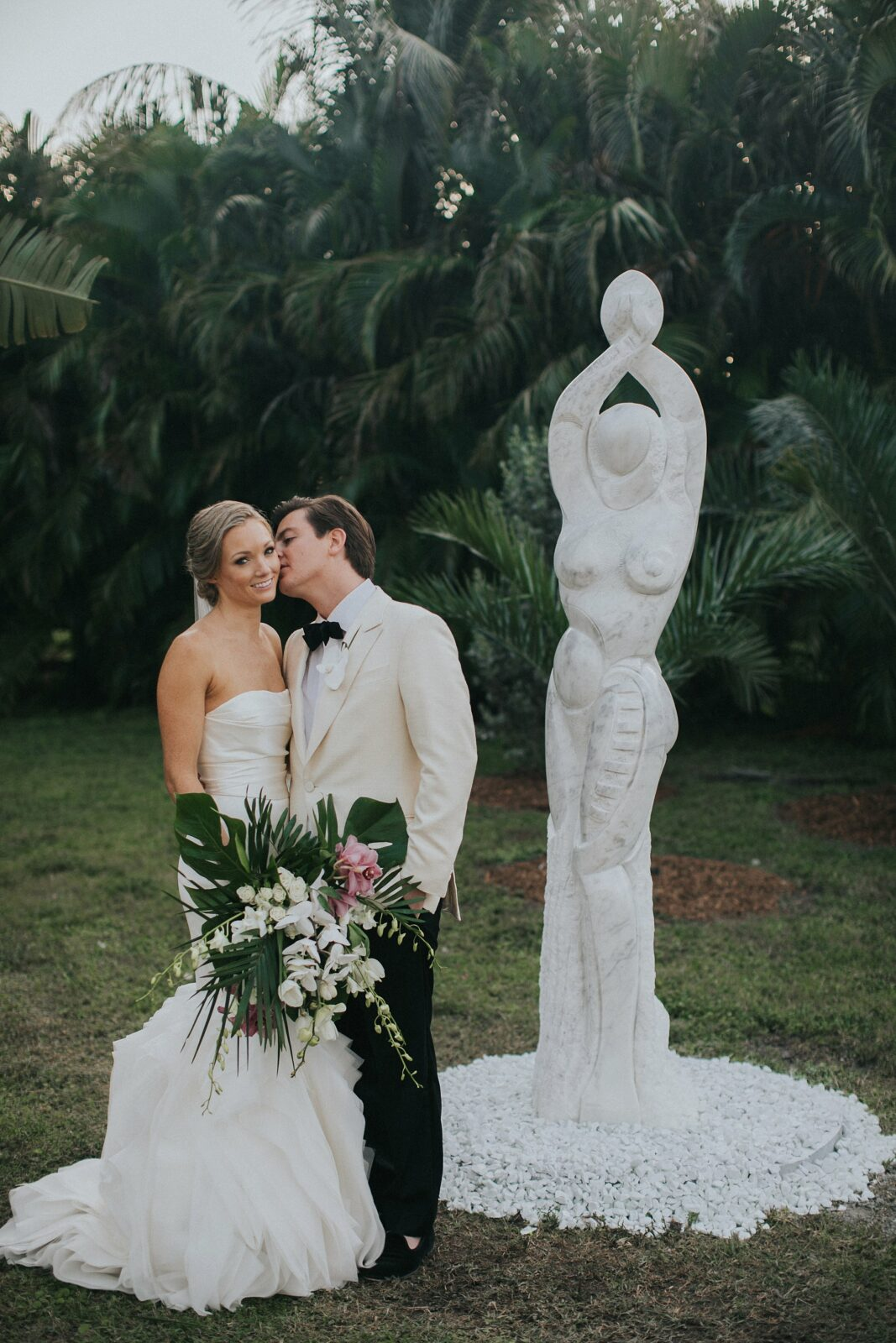 sculpture garden wedding