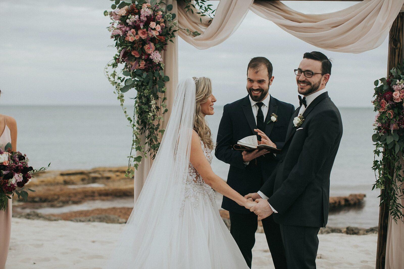 beach side keys wedding