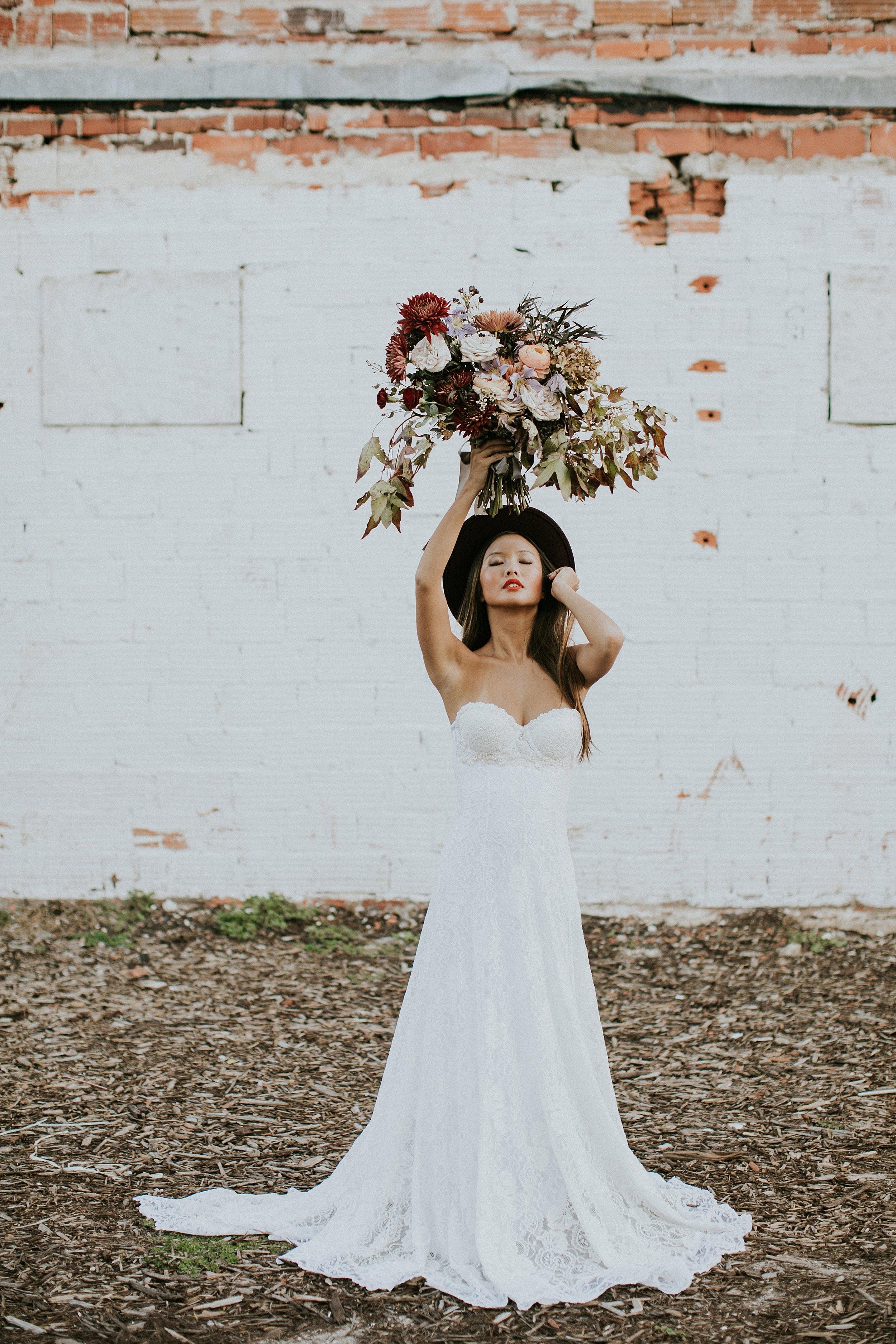 urban bridal inspiration