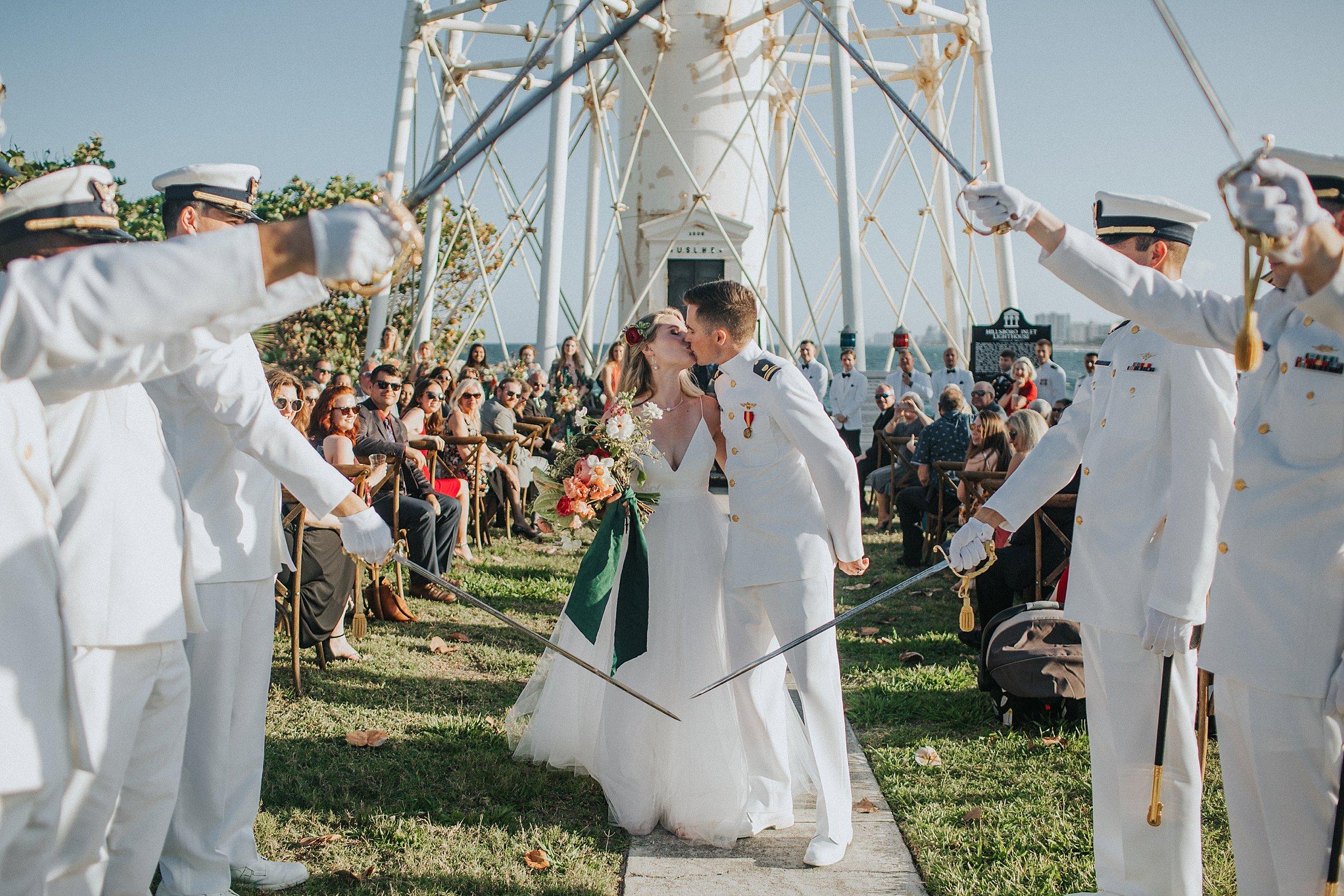 lighthouse wedding south florida