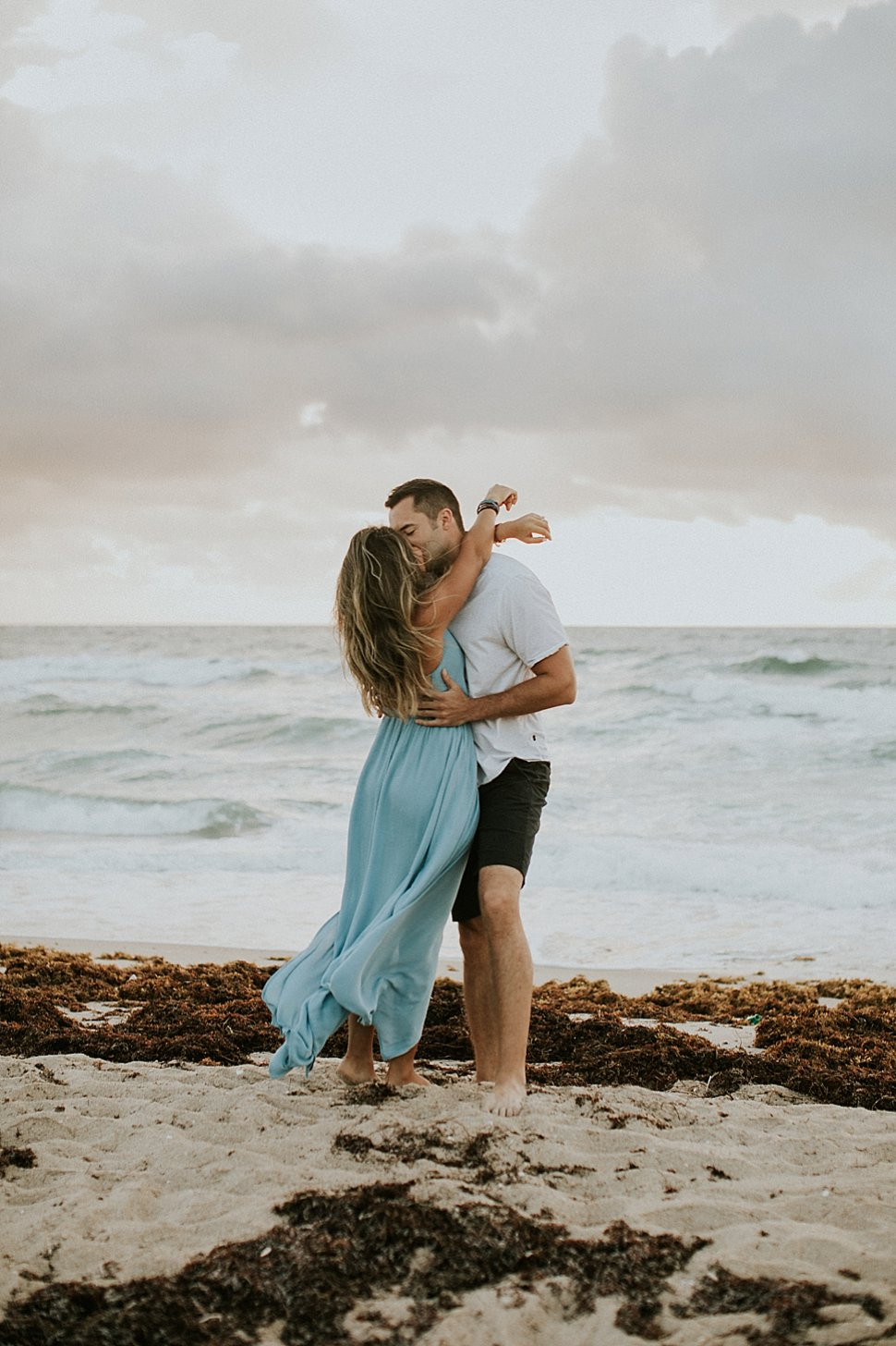 florida romantic beach portraits
