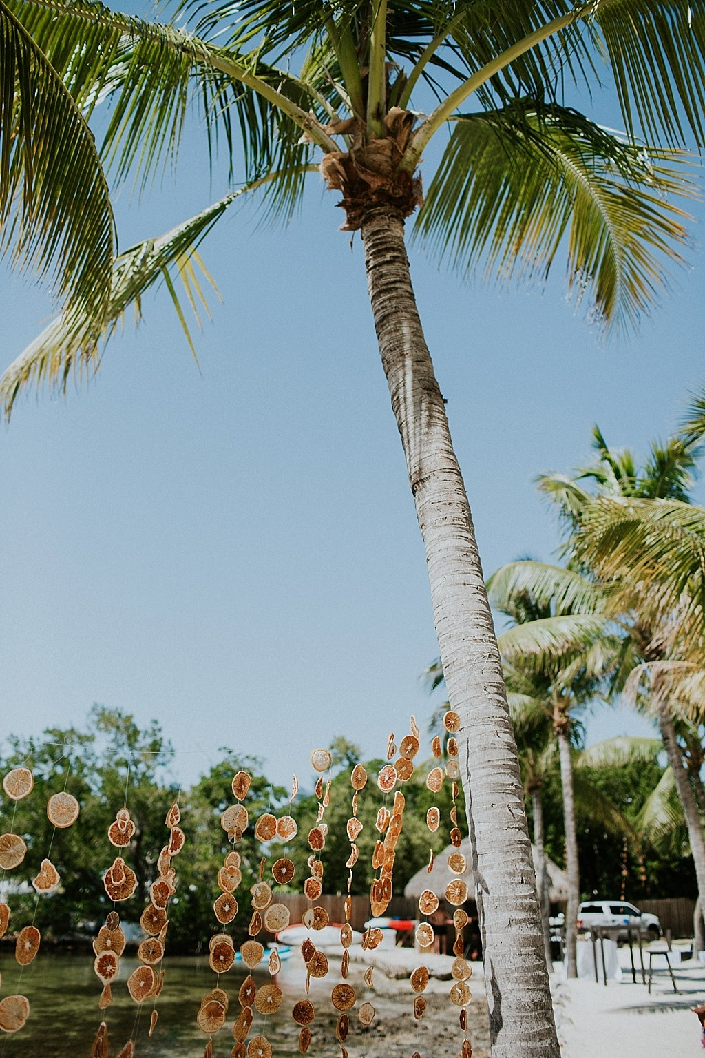 tropical florida keys wedding
