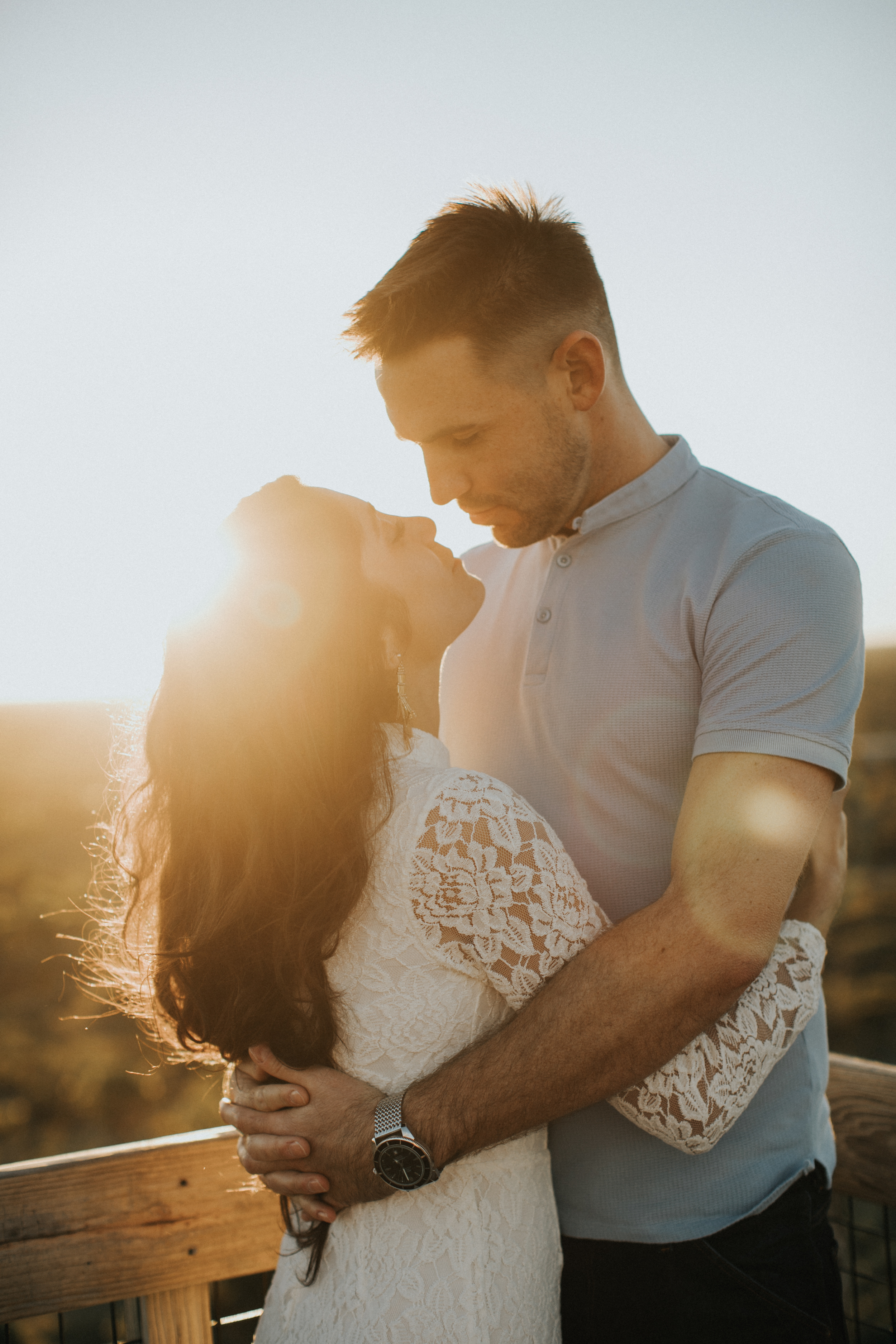 south florida engagement session