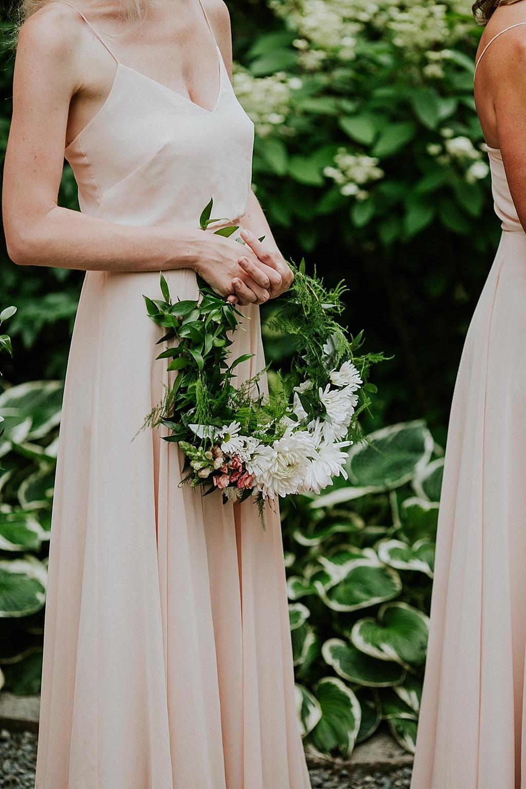floral bridesmaid ring