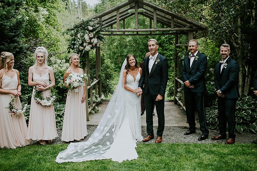 seattle garden wedding