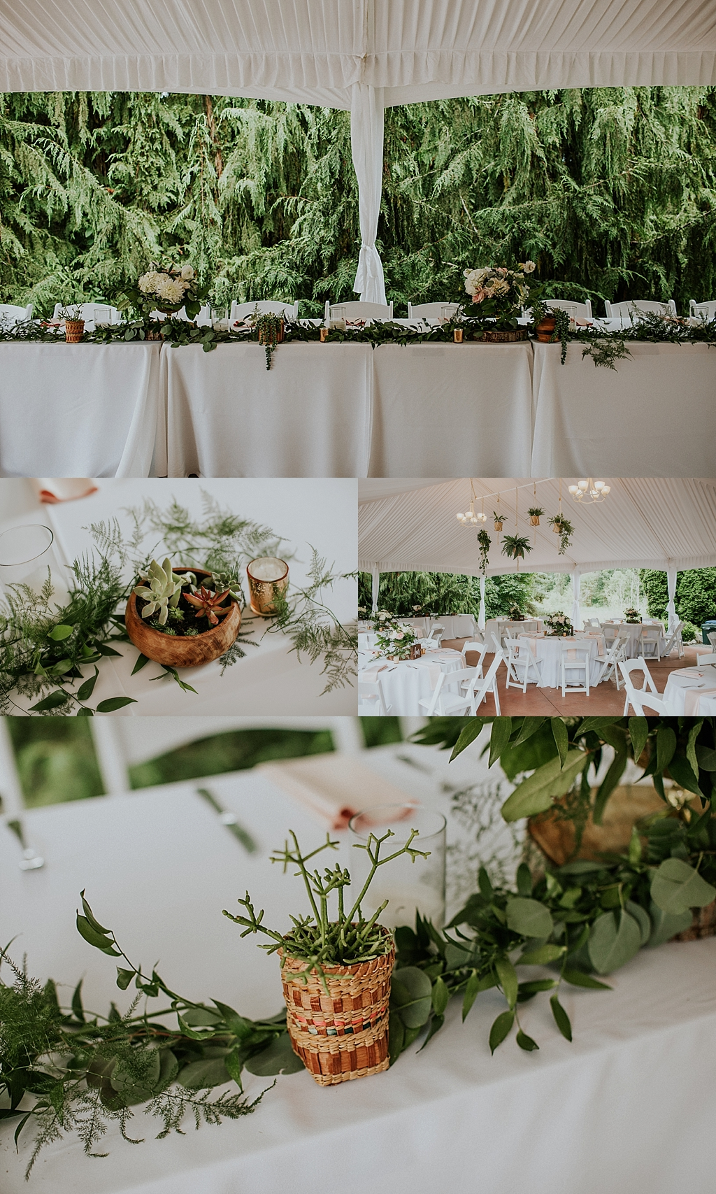 handmade wedding details
