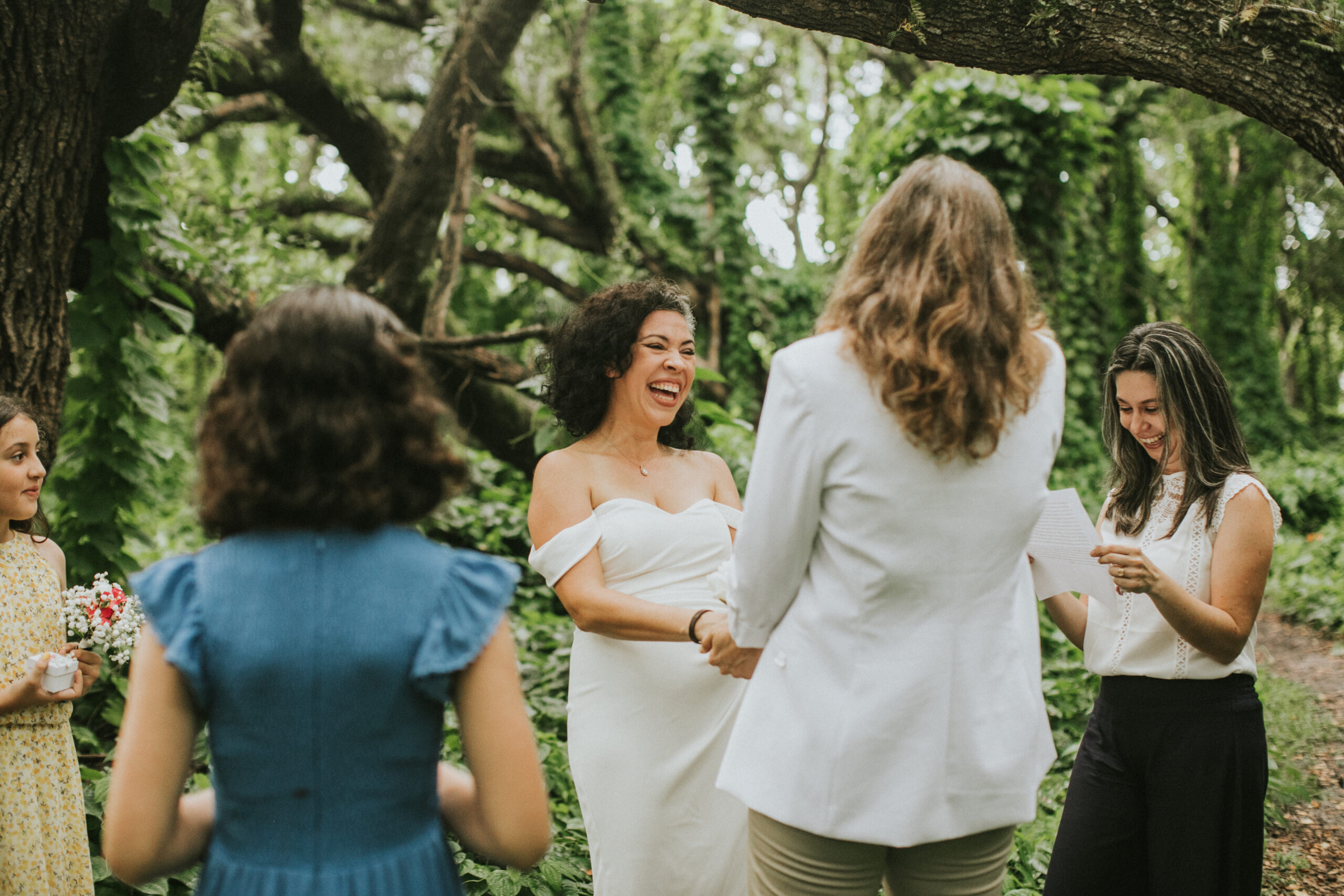 whimsical Miami elopement