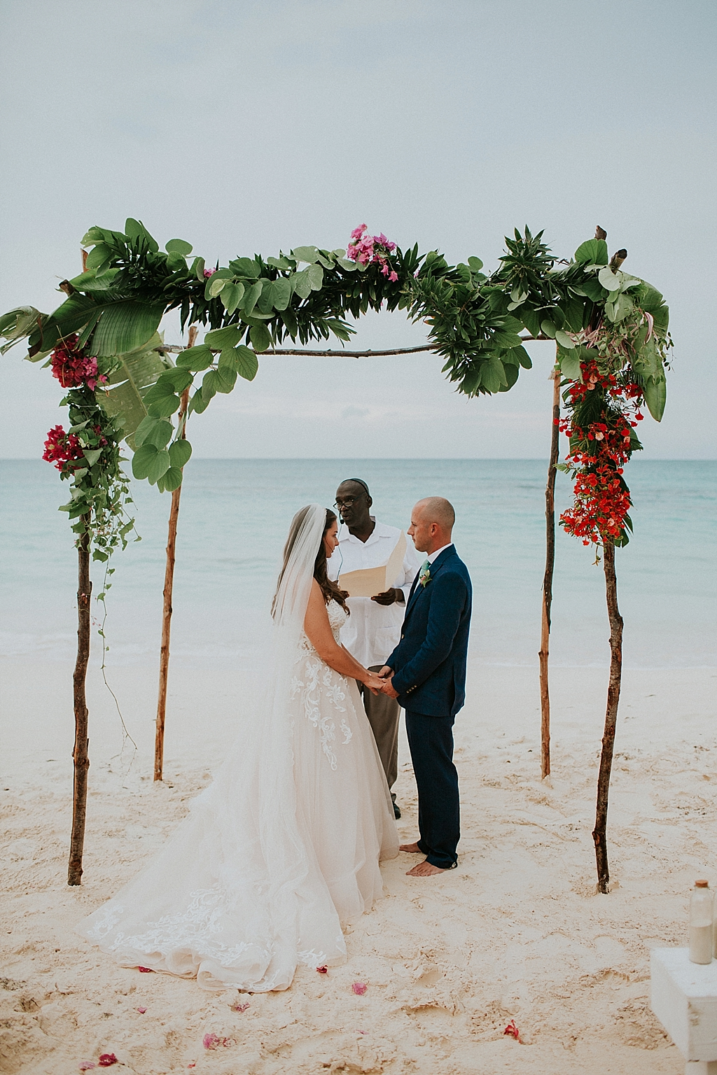 intimate bahamas beach wedding