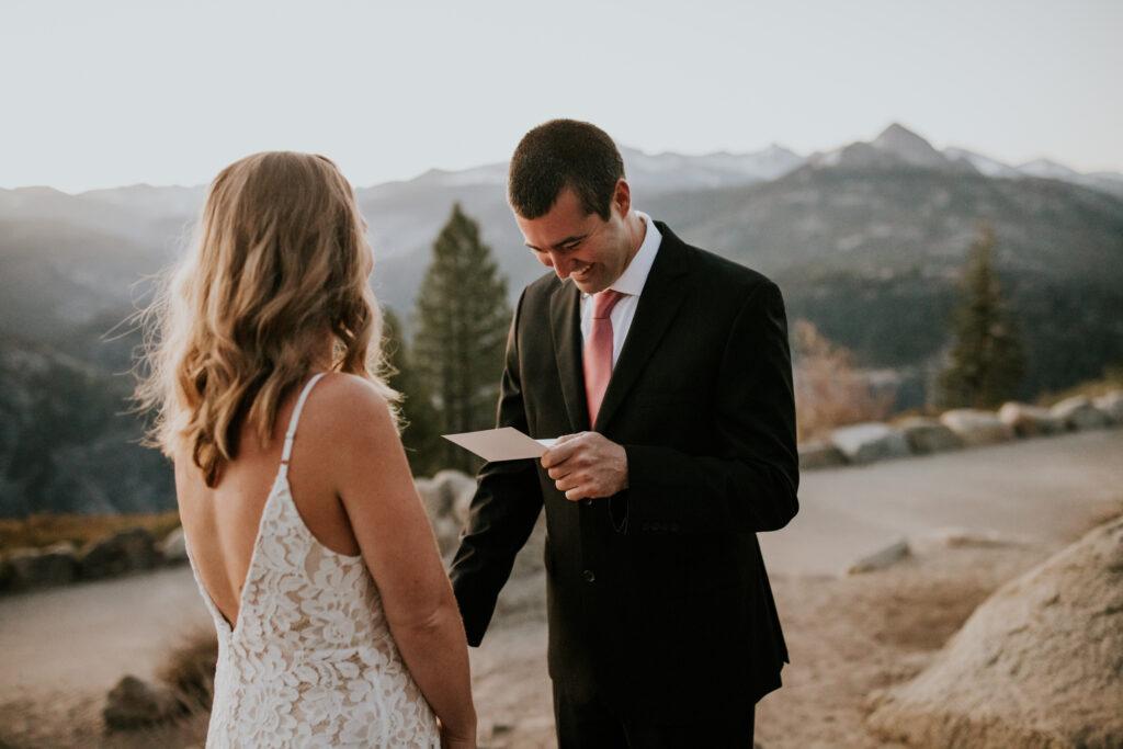 california elopement
