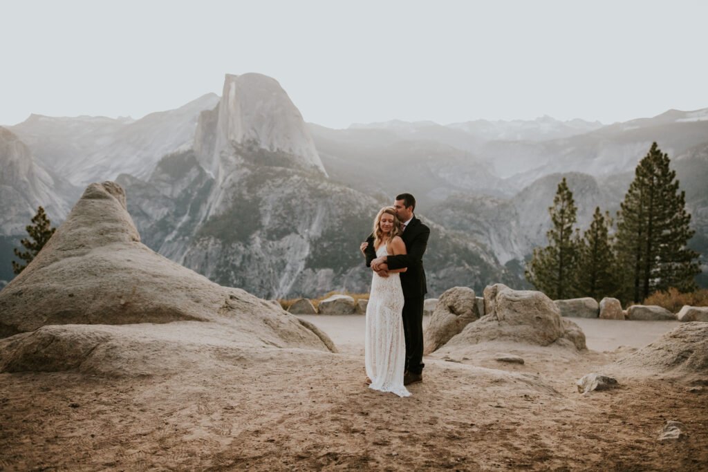 spring California elopement in the mountains