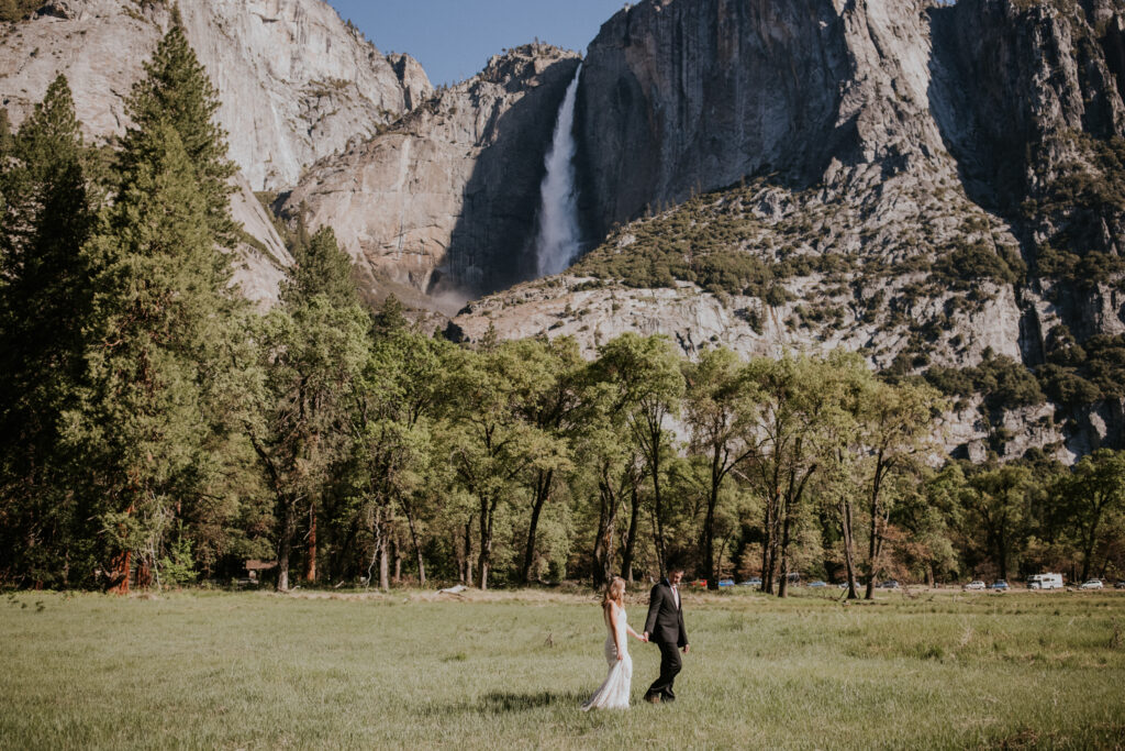 Yosemite National Park Spring Elopement