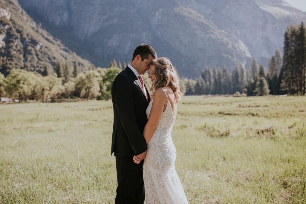 Yosemite morning elopement