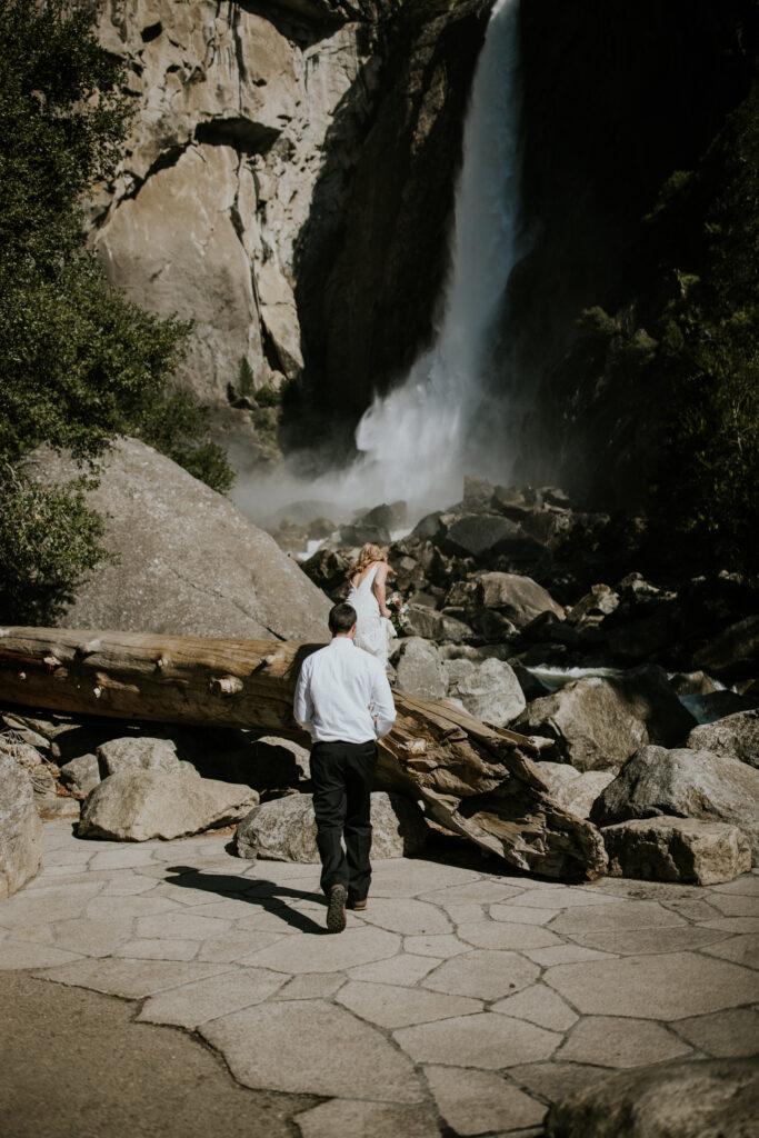 Adventure Elopement Yosemite national park