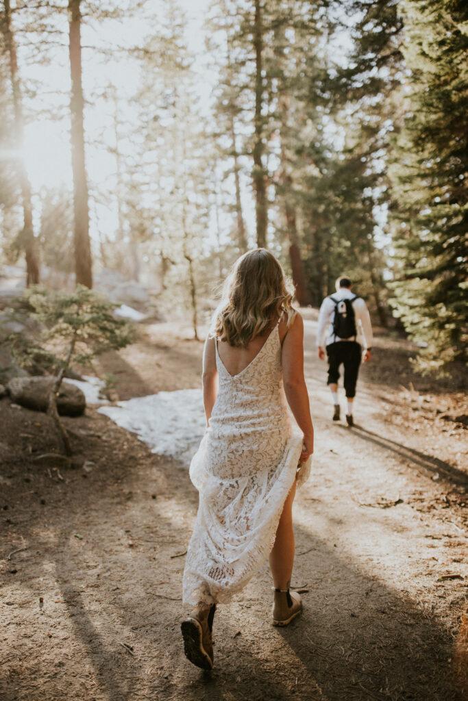 Adventure Elopement bridal inspo