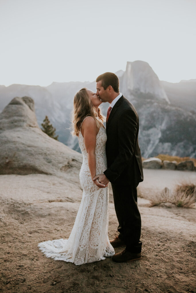 Yosemite elopement glacier point