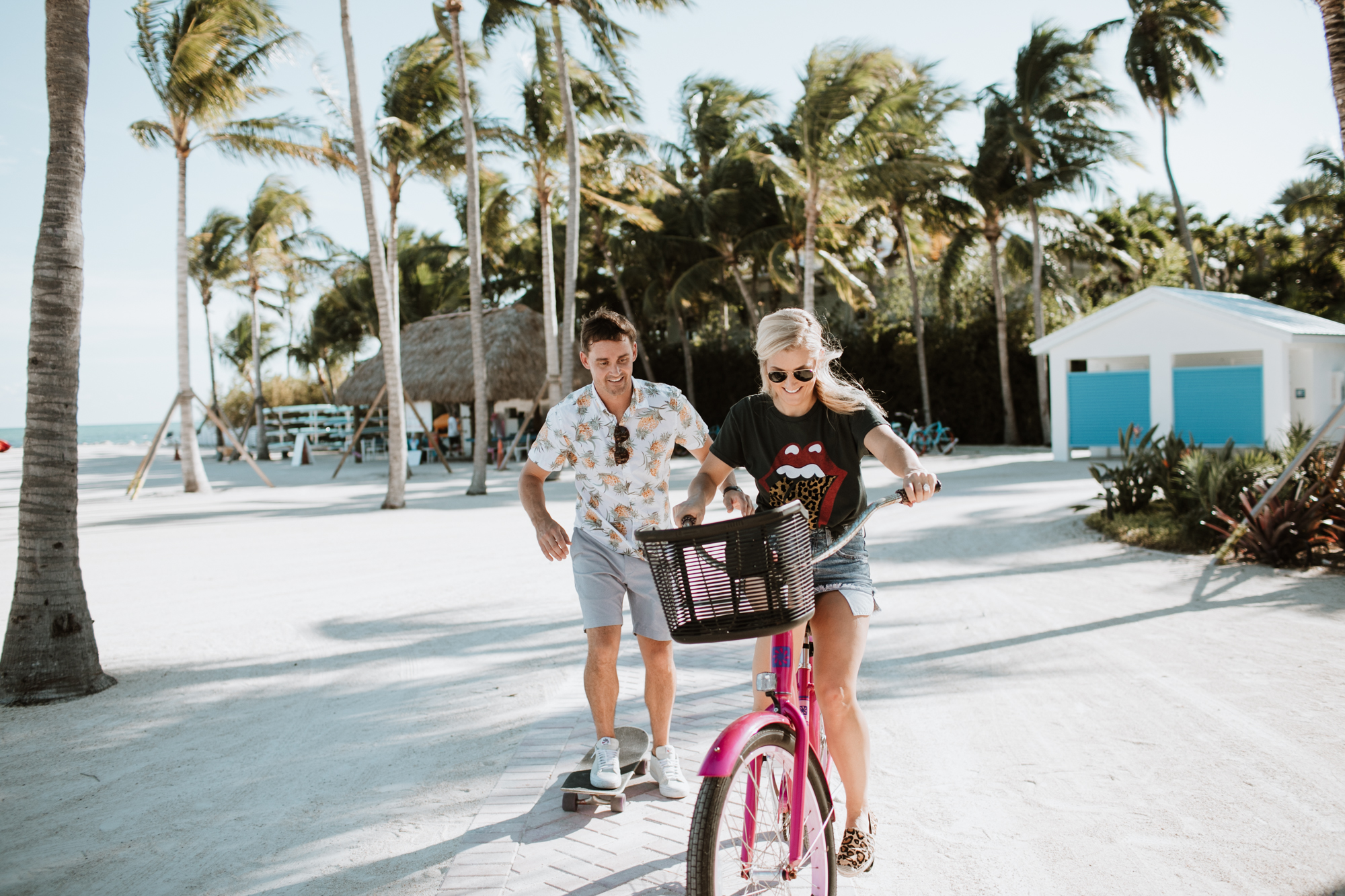 riding bikes in the florida keys