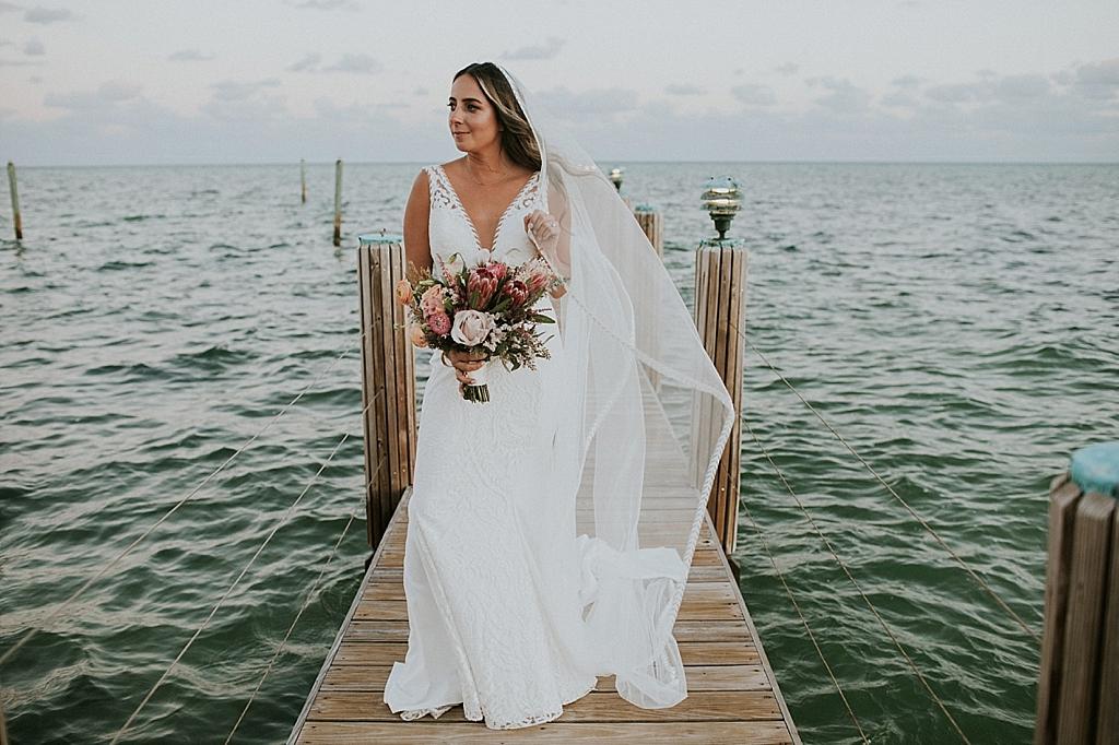 boho florida keys wedding