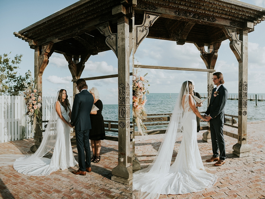 Tropical islamorada wedding