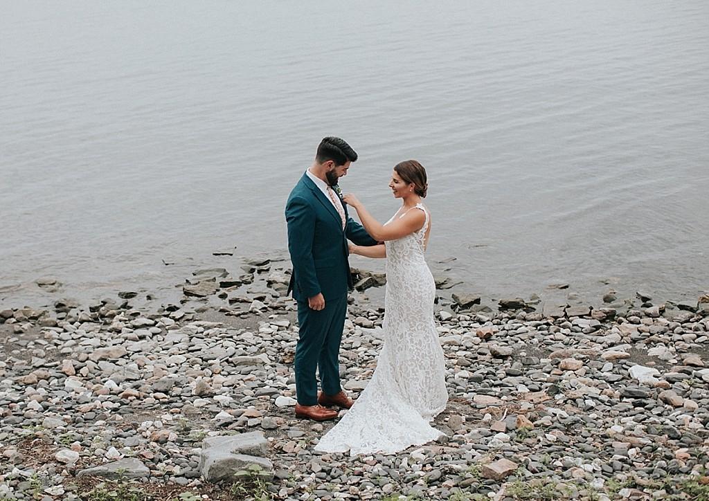 lakeside wedding vermont