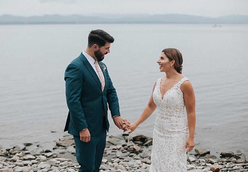 lake champlain wedding