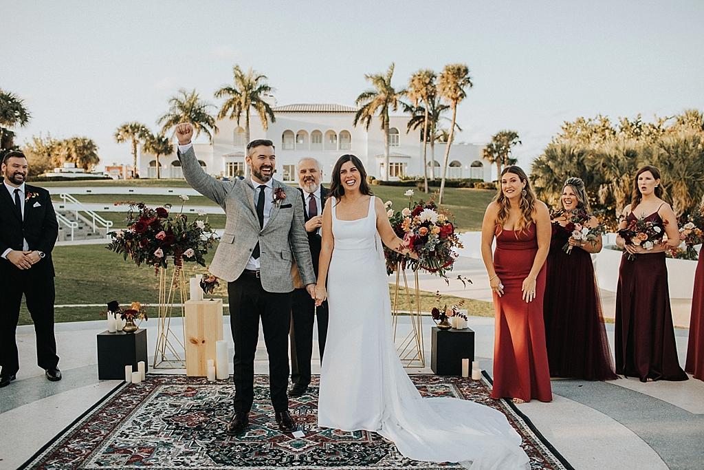 modern classic florida wedding