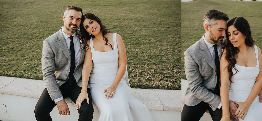 romantic wedding portraits