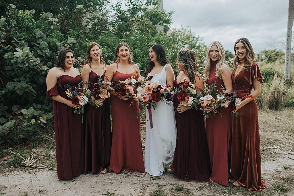jewel tone bridesmaid dresses