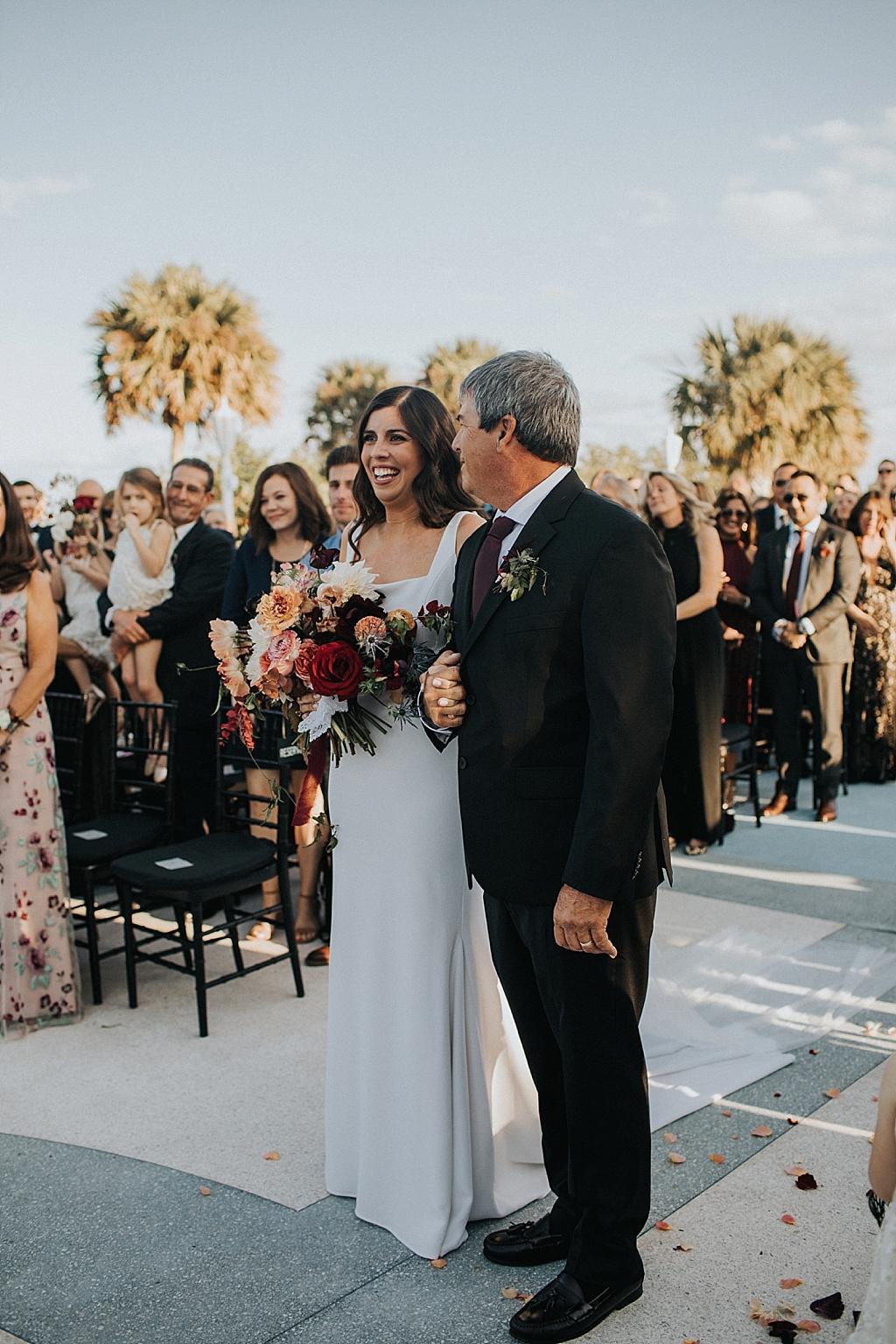 modern bohemian bride inspiration