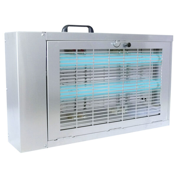 The AG-961 Insect Electrocutor is a compact, powerful flying insect light trap