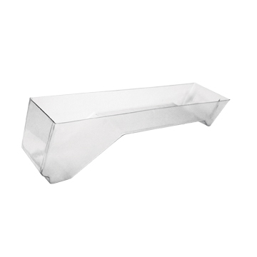 Angled Front Dummied Out Meat Pan