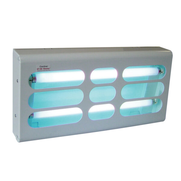 The GT-180 light trap is an attractive wall mount design flying insect trap