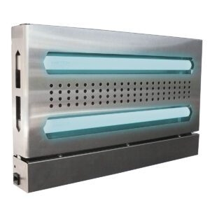 The GT-215 is a decorative insect light trap. Flying insects are attracted to the ultraviolet light