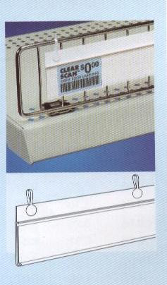 Loop Style Shelf Channel for retail store display