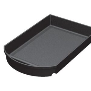 12 inch wide notched curved front shelf organizer