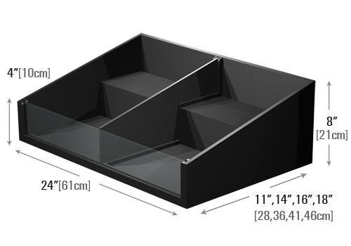 dimensions of small shelf step organizer