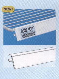 Refrigerated Reach-In Box Shelf Channels for retail store display