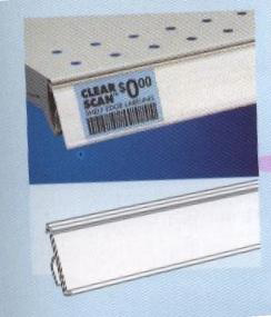Standard Shelf Channel (IT30) for retail store displays