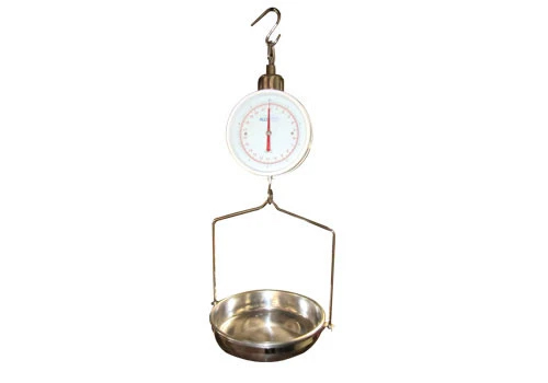 Hanging Scale for Dry Table Produce Display