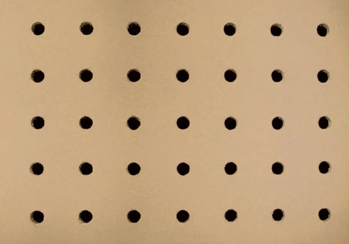 Peg Board Inserts for Dry Table Produce Display