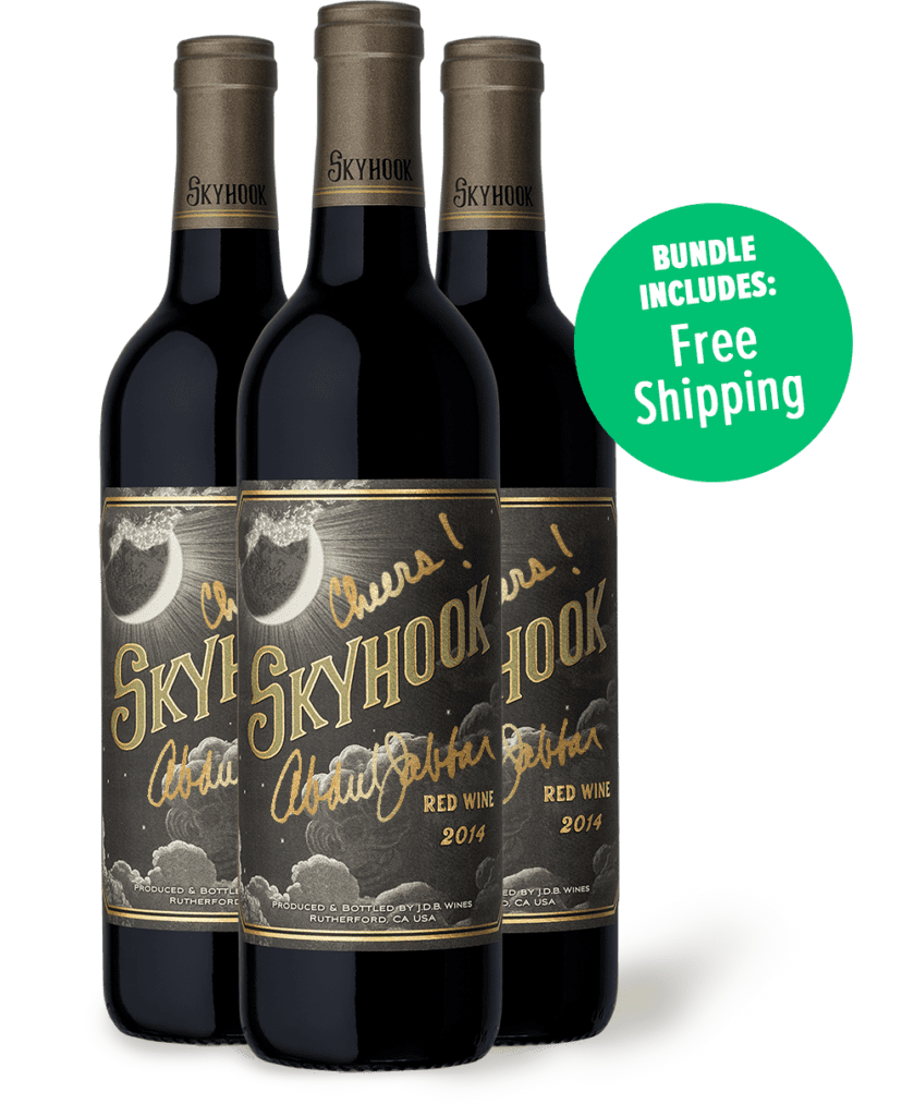 skyhook wine 3 pack signature shipping
