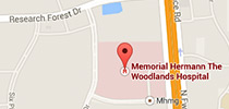 Dr. Maniscalco Woodlands-hospital-map