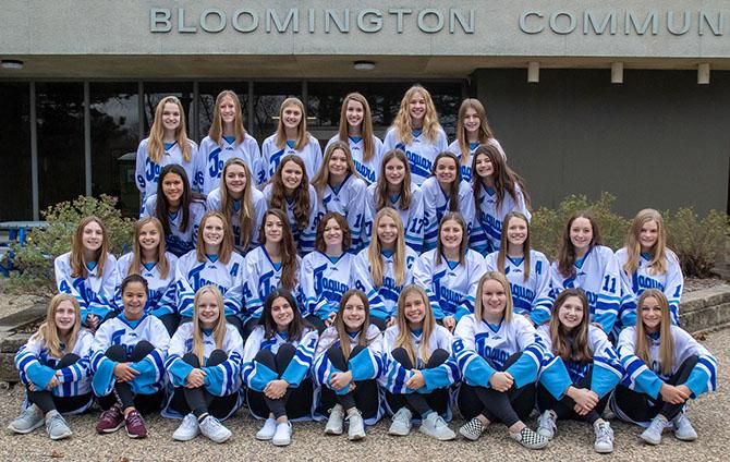 Girls Jaguar Varsity Hockey Team 2019-2020