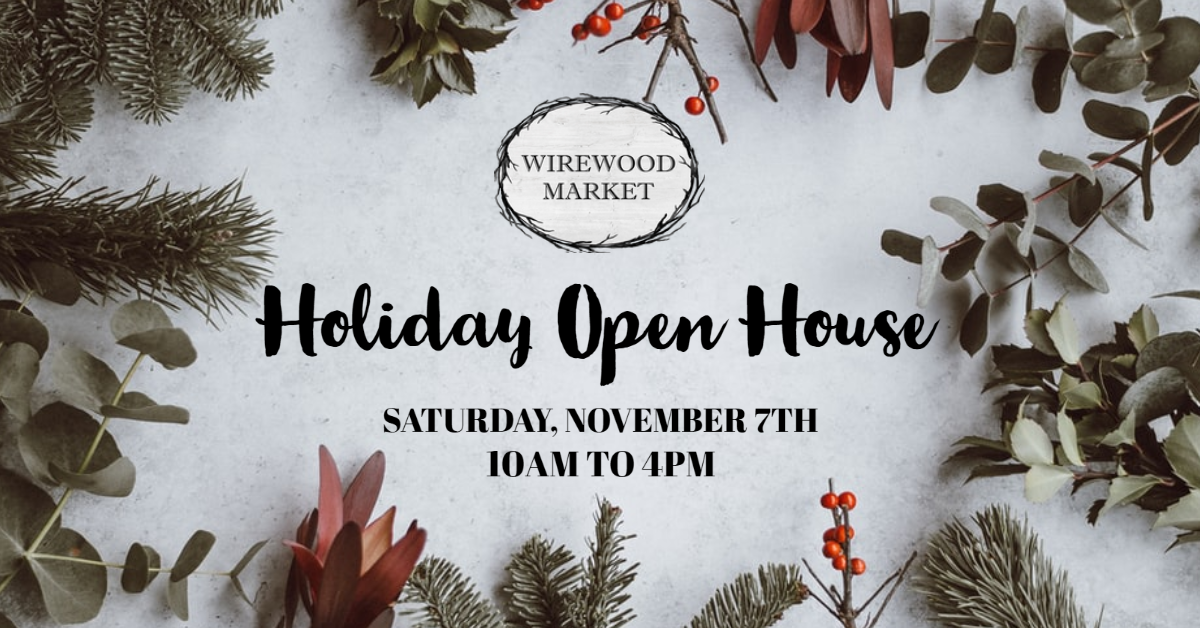 Holiday Open House 11/7