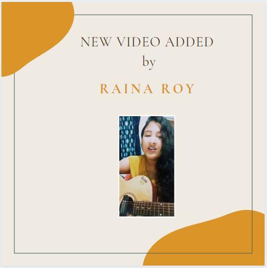 ৰিণিকি ৰিণিকি ৰাঙলী বেলিটি   – by Raina Roy